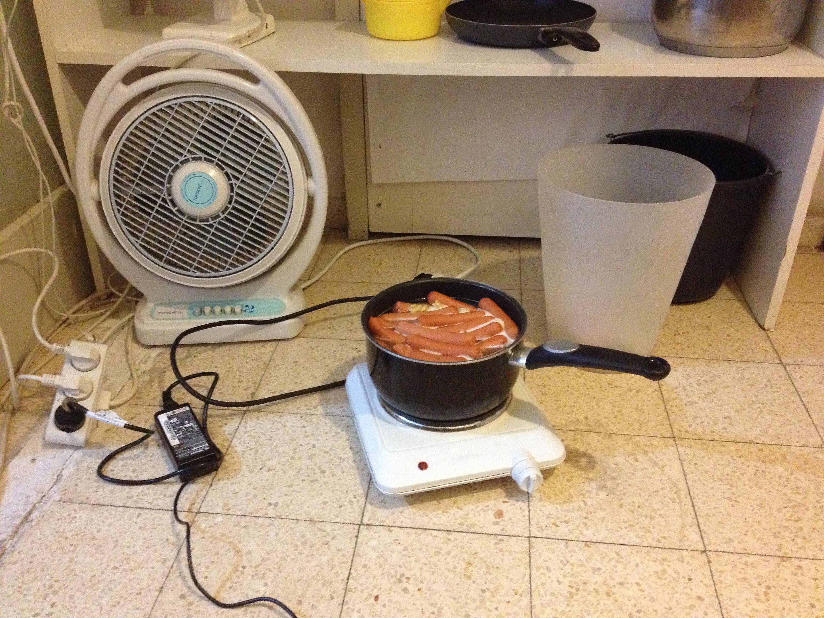 Min kogeplade på værelset