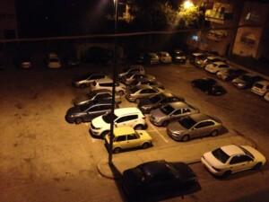 Parkedere biler i Mellemøsten