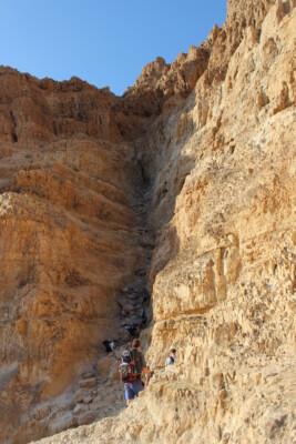 Stejl klippevæg
