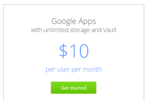 Google Works Unlimited price