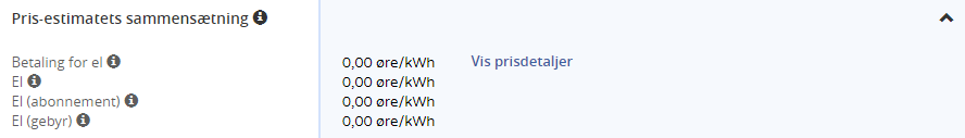 ElPris.dk - Pris-estimatets sammensætning