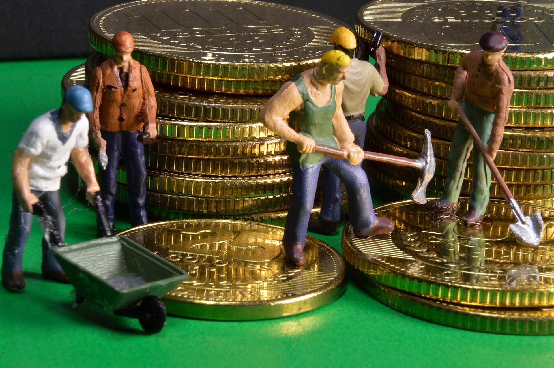 Penge fælles arbejde