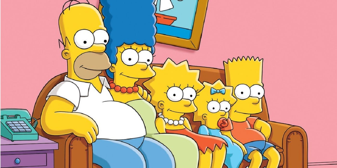 The Simpsons Sofa