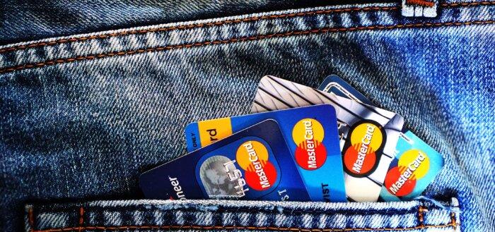 Kreditkort i lomme