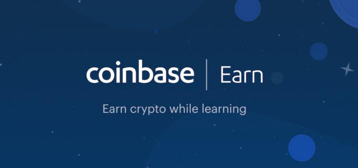Coinbase Earn - Tjen gratis crypto