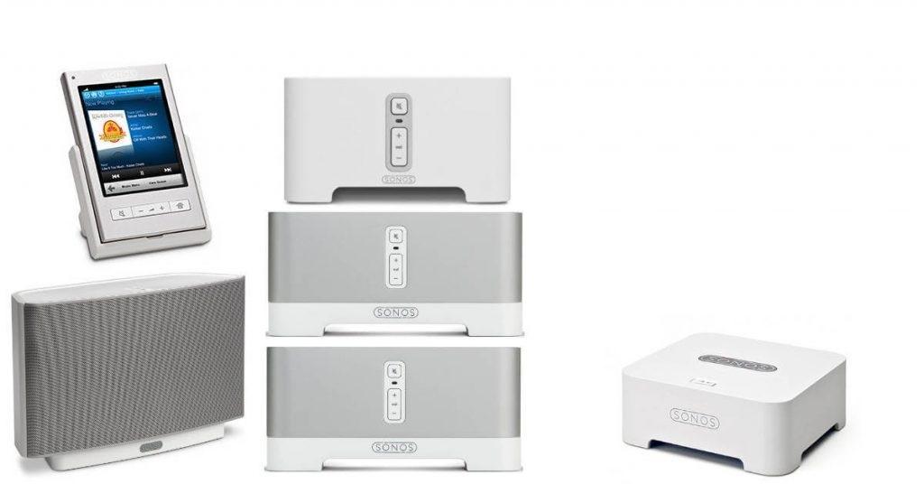 Sonos Gen 1 produkter